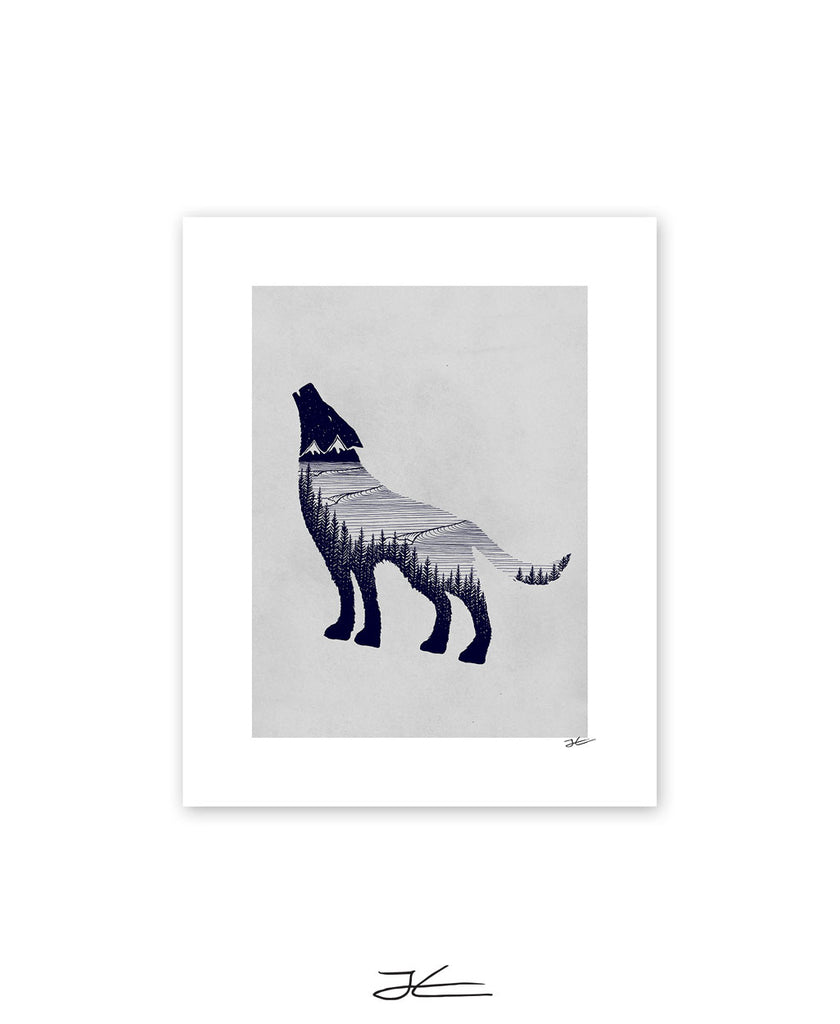 Wolf Dreams - Print/ Framed Print