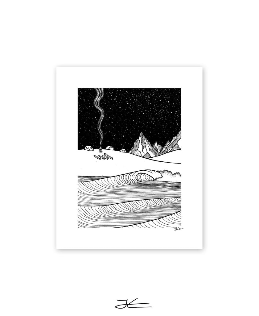 Wonderland Black & White - Print/ Framed Print