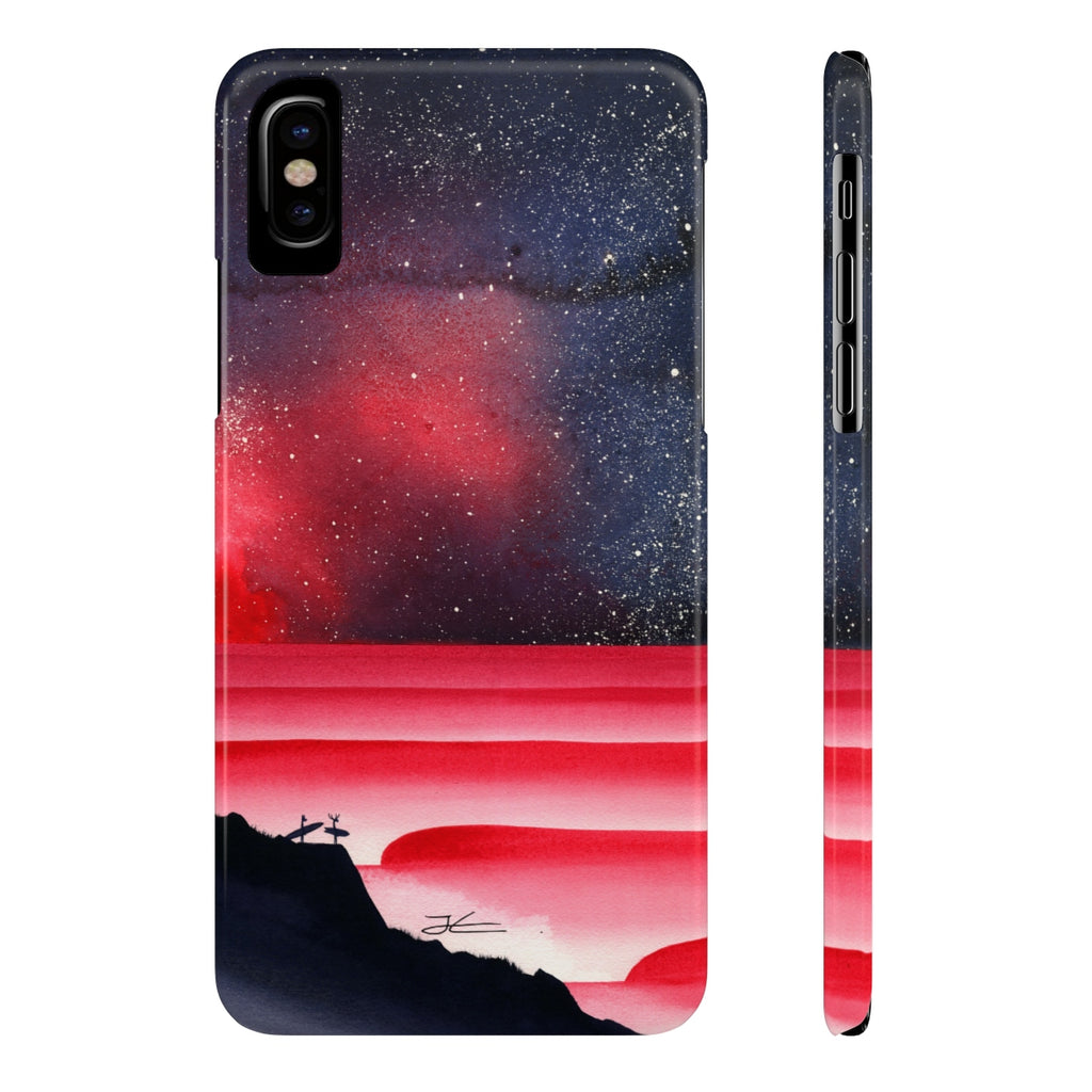 Blood Aurora Slim Phone Case