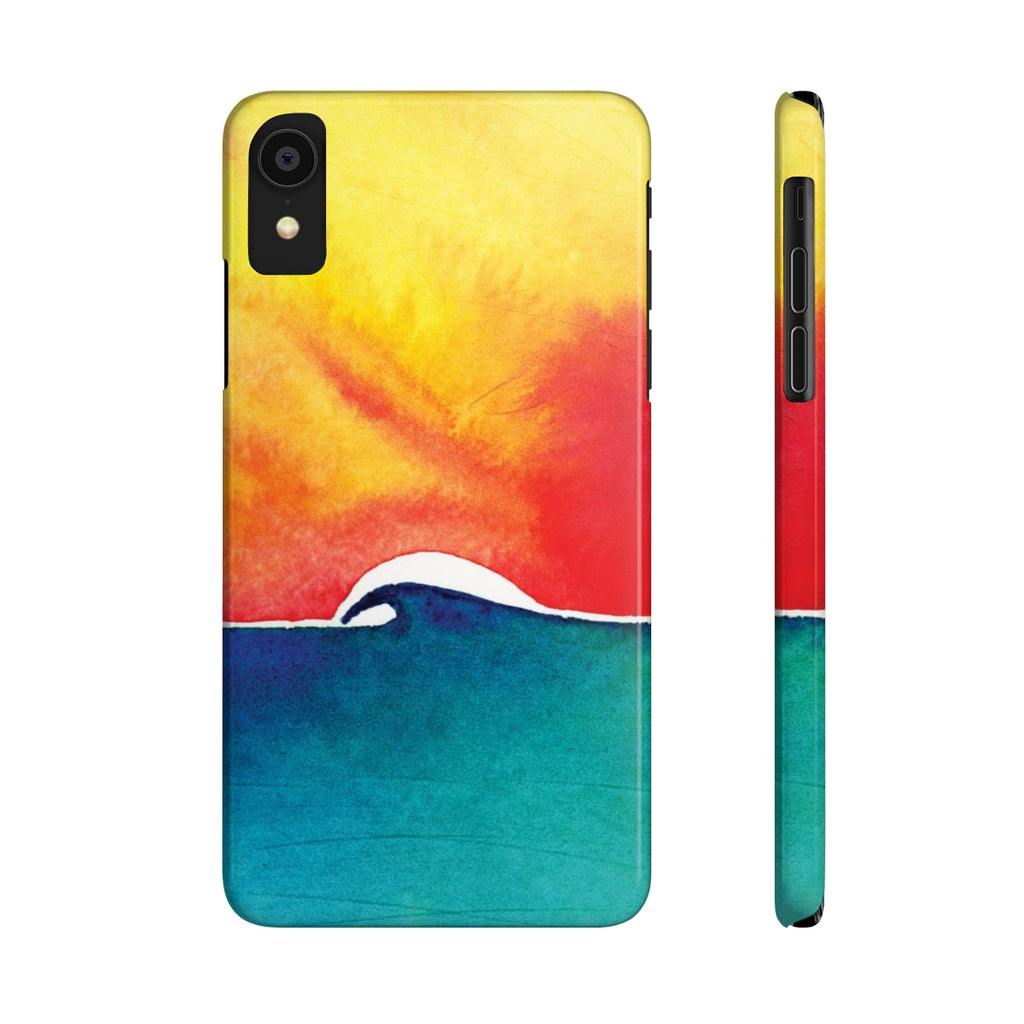Oceans Day Slim Phone Case