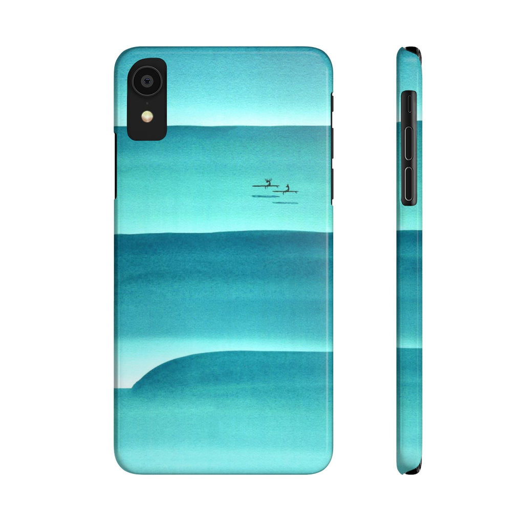 Rolling In Slim Phone Case
