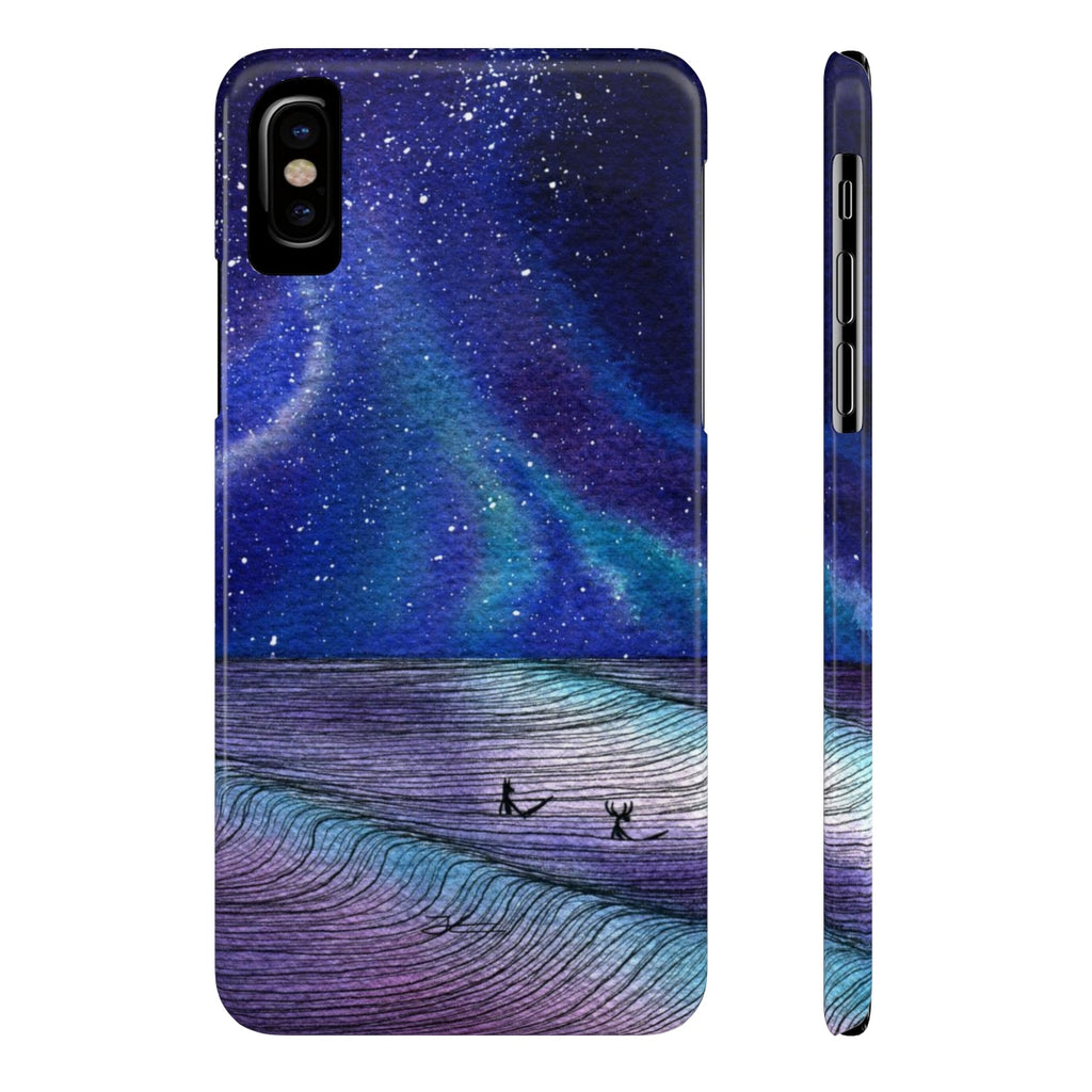 Between Sets Slim Phone Case