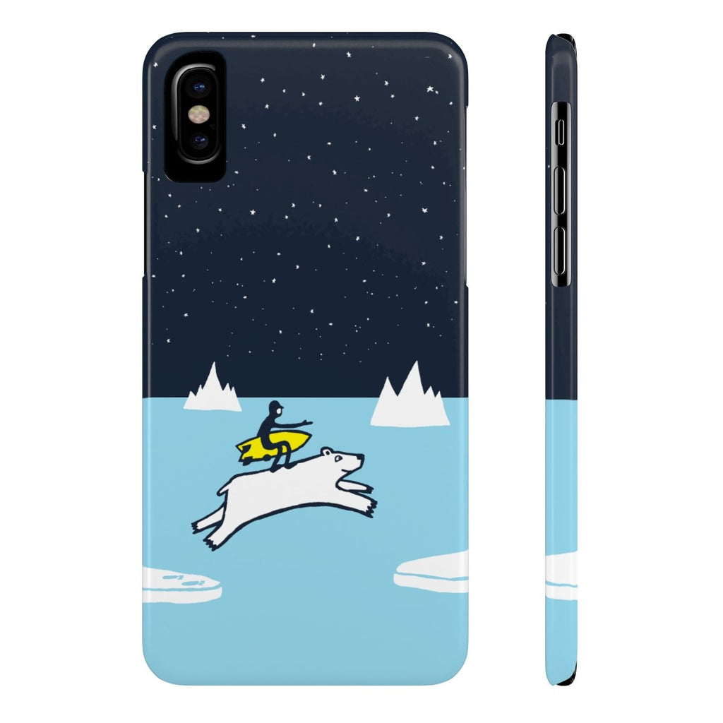 If There Is A Will There Is A Wave Slim Phone Case