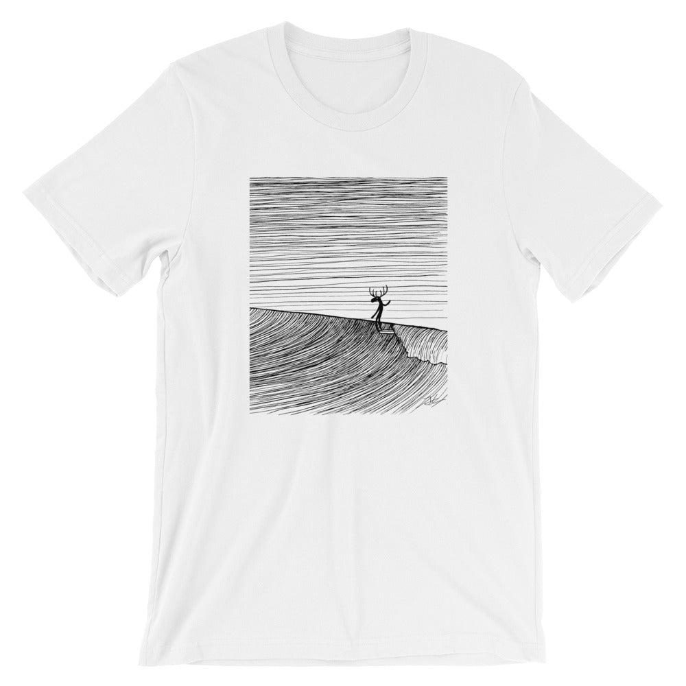 SALE -  Moosa Heads Unisex T-Shirt - White / XS /