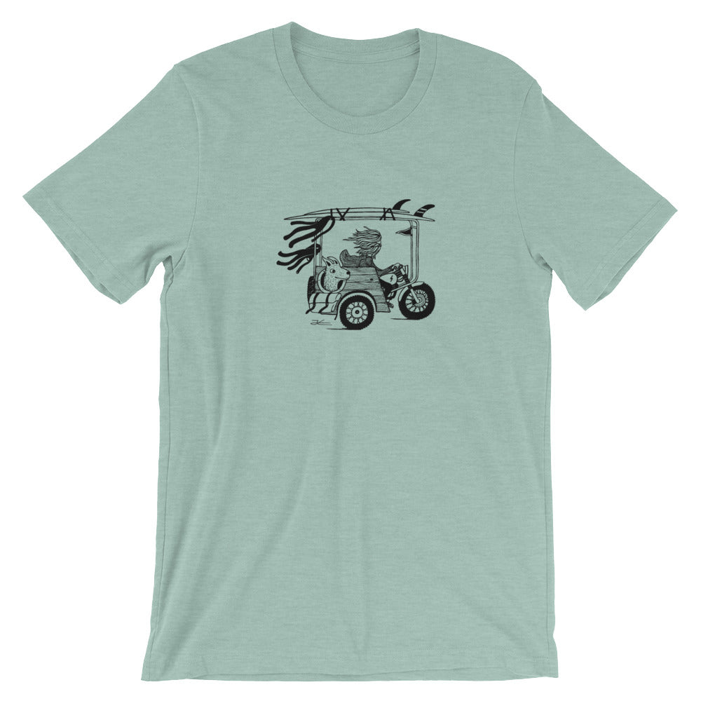 93647db091a On The Road Again Unisex T-Shirt