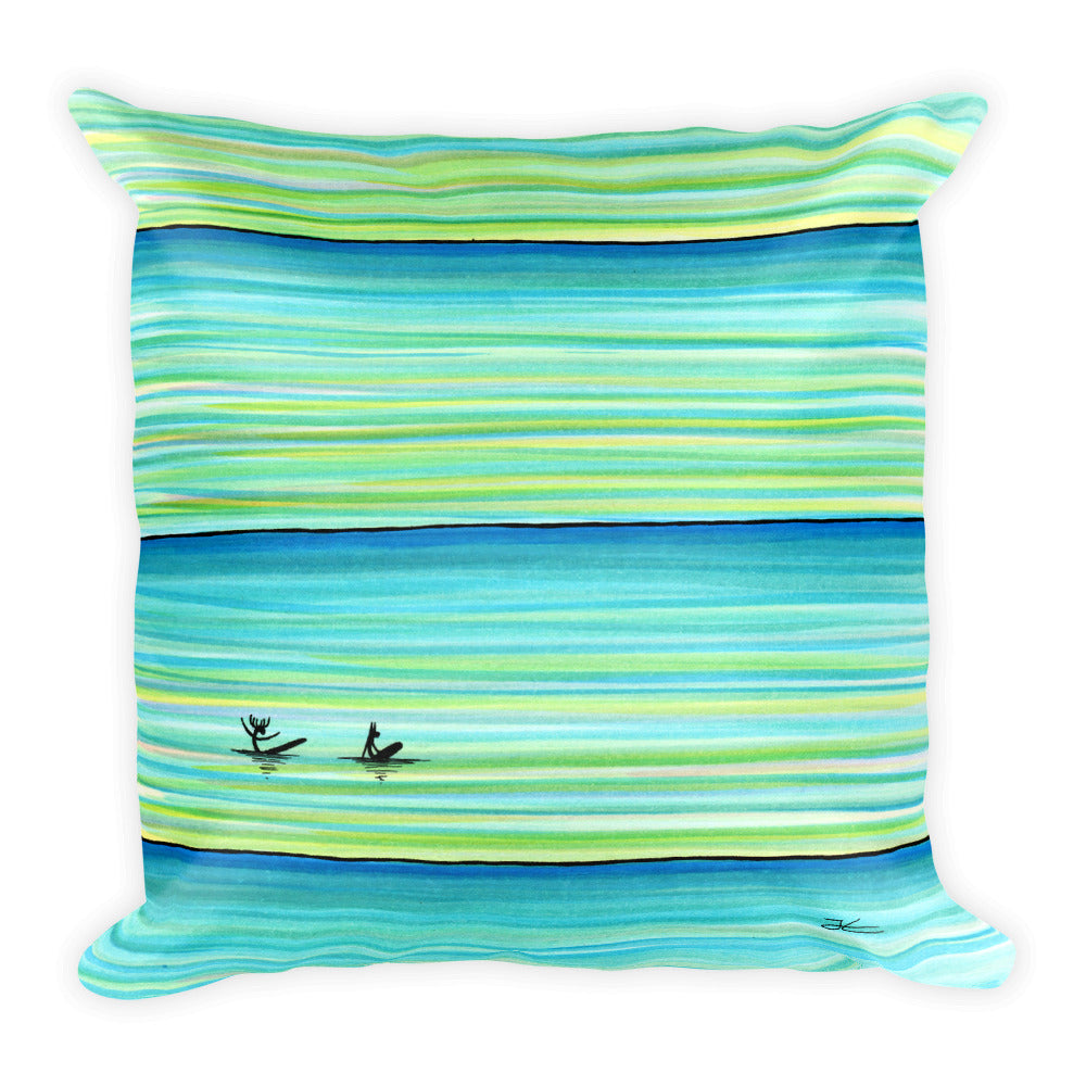 Surf Buddies Pillow