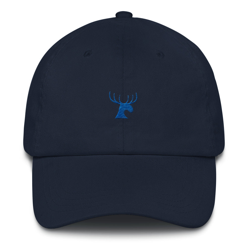 Moose Head Embroidery Cap