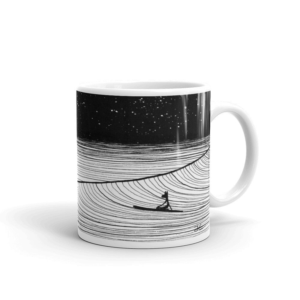 Night Slide Ceramic Mug