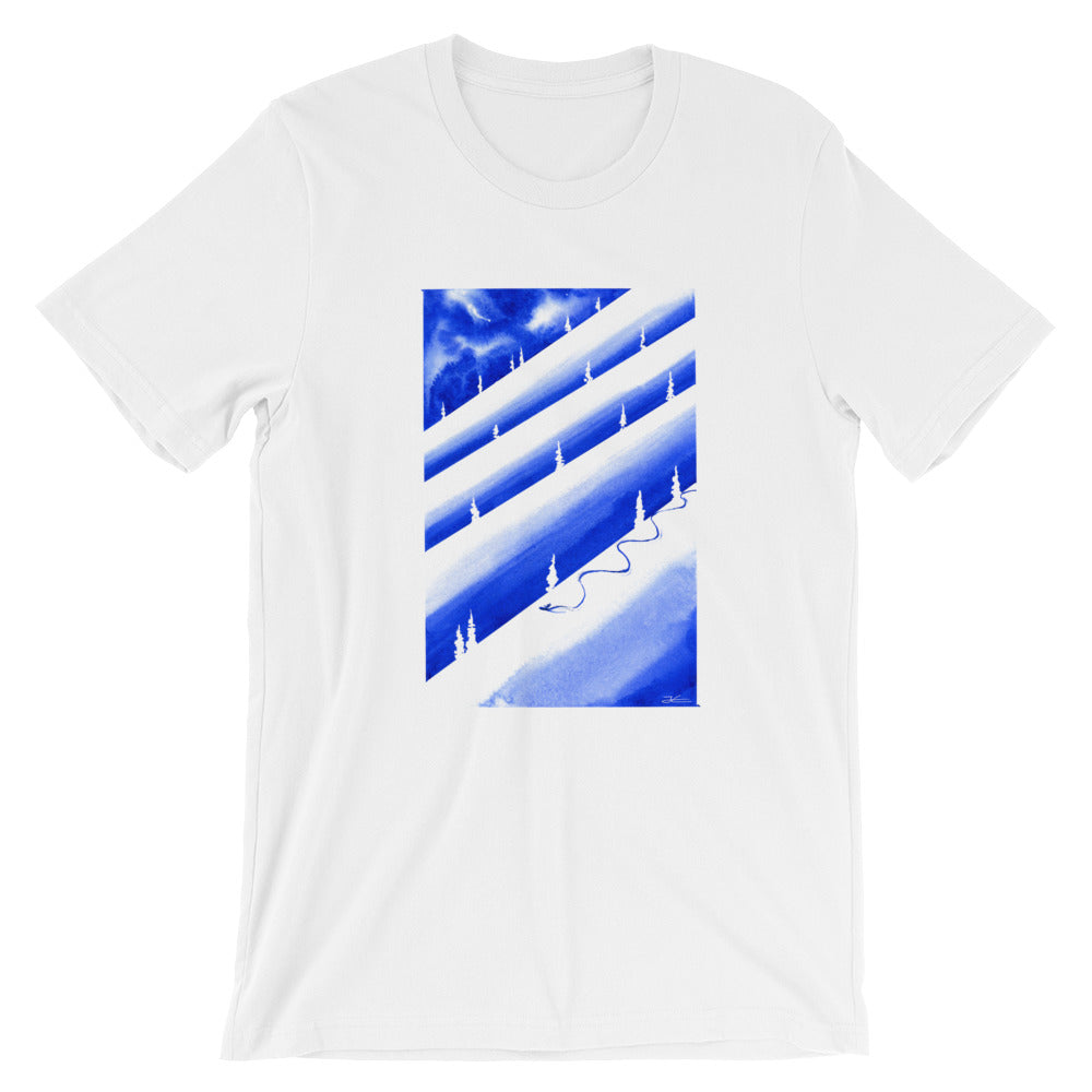 Thinking About Snow Unisex T-Shirt