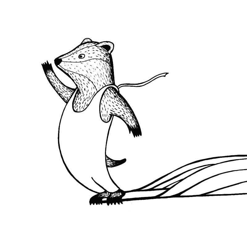 The Surfing Animals Alphabet Coloring Book | Jonas Claesson Shop