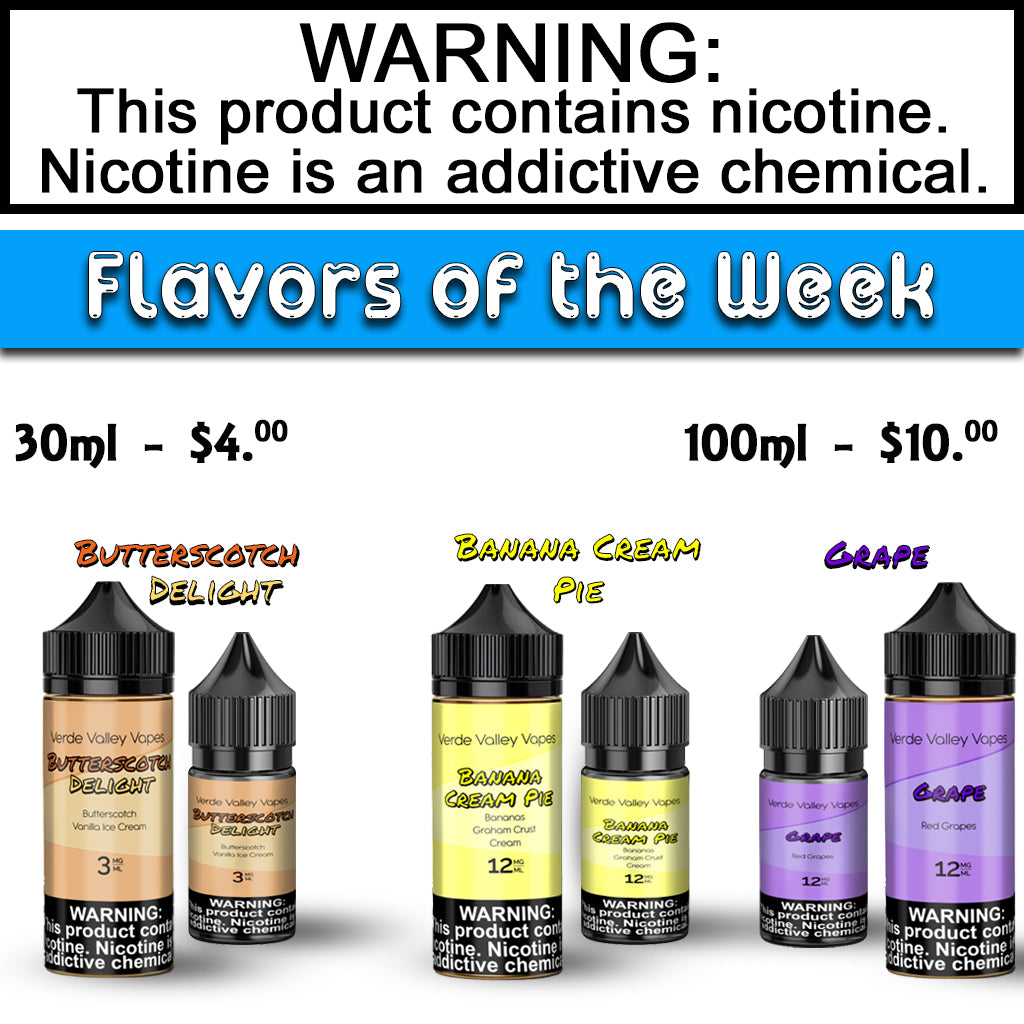 Flavors of the Week