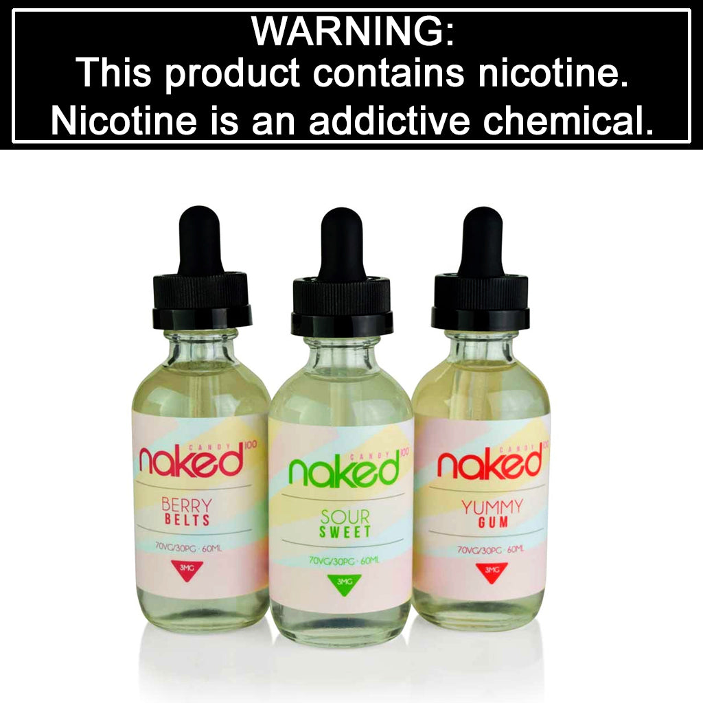 Naked 100 Candy E-Liquid (60mL)