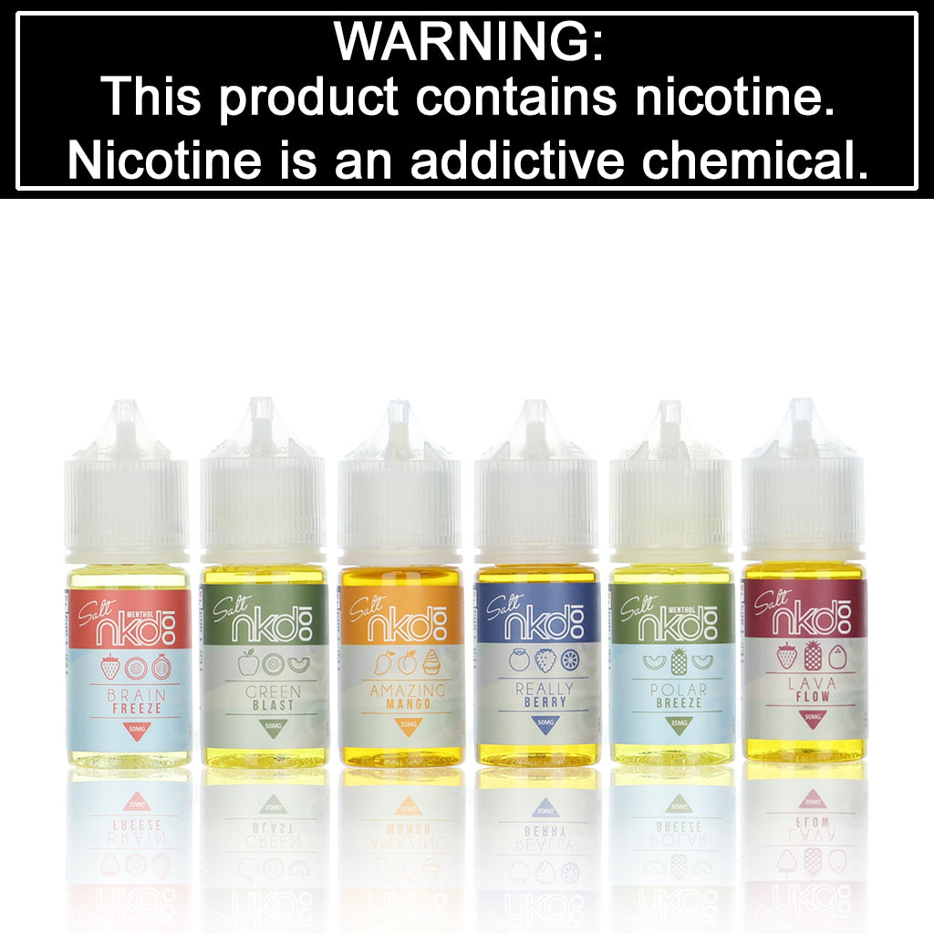 Naked Salt Eliquid - 30ml