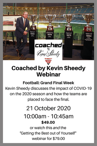 Coached by Kevin Sheedy: Grand Final Week