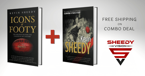 Book Combo Deal - Icons of Footy & Kevin Sheedy