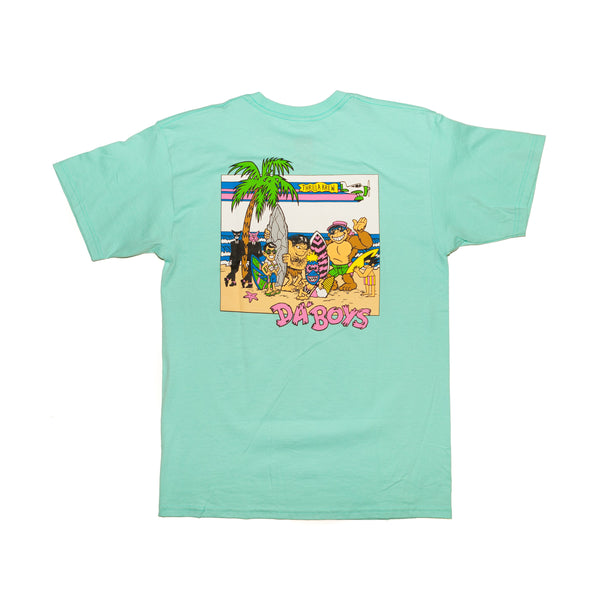 Da'Boys Youth Tee (Celadon)
