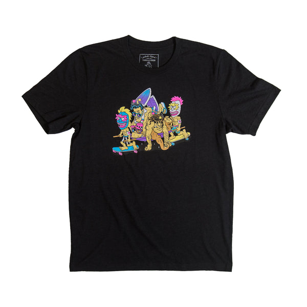 After The Wipeout T-Shirt (Black)