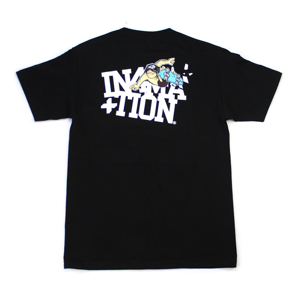 Thrilla Krew x IN4MATION Collab-Breakout Tee (Black)