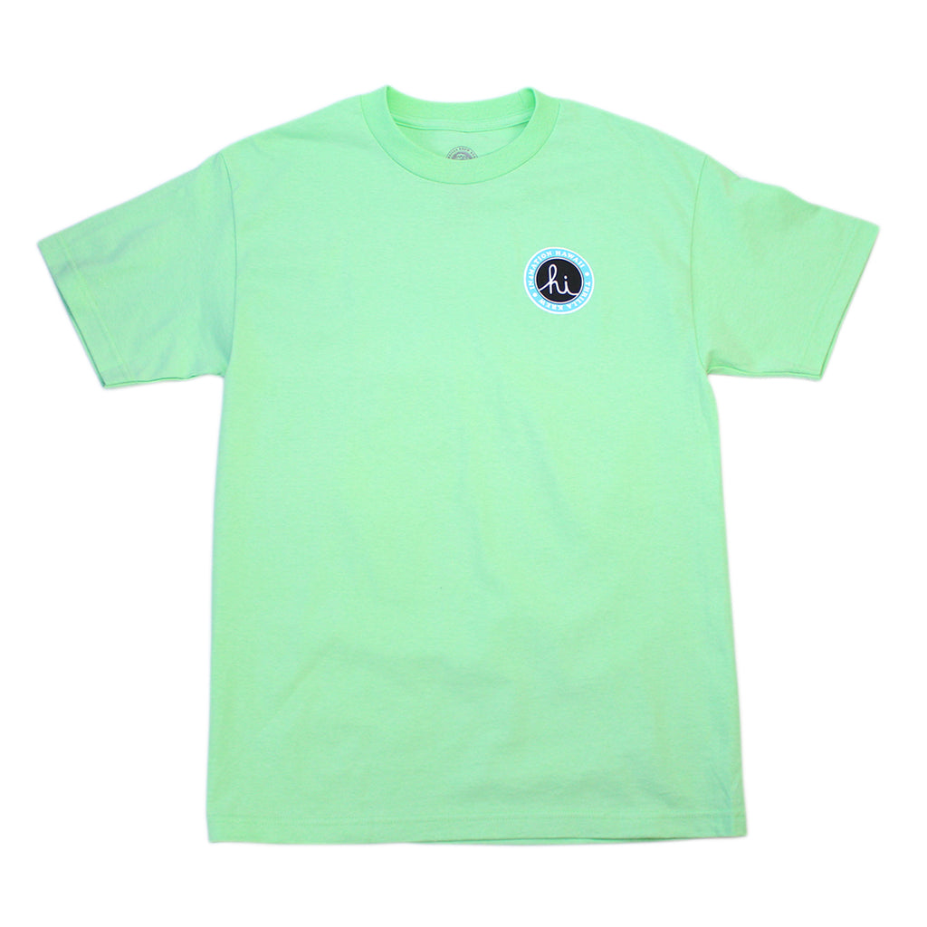 Thrilla Krew x IN4MATION Collab-Breakout Tee (Mint)