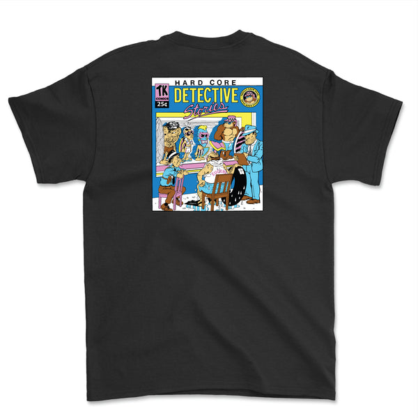 Hardcore Detective Stories 2 Thrilla Krew Tee (Black)