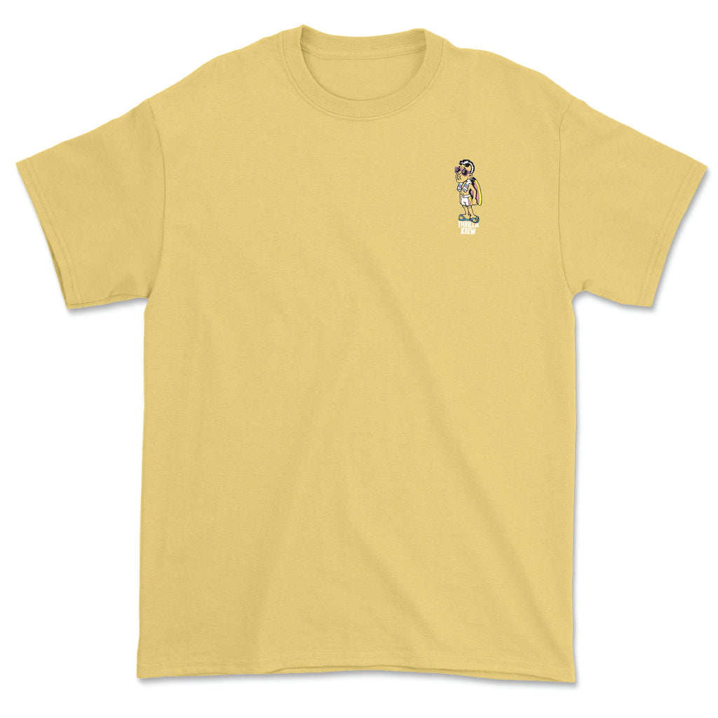 Hardcore Detective Stories 2 Thrilla Krew Tee (Yellow)