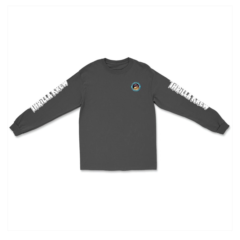Microbus L/S Tee (Charcoal)