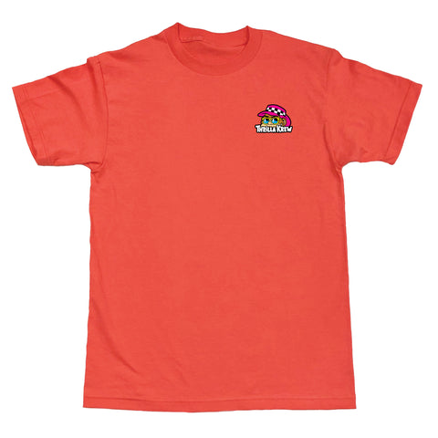 Thrilla Walk 2 Tee (Coral)