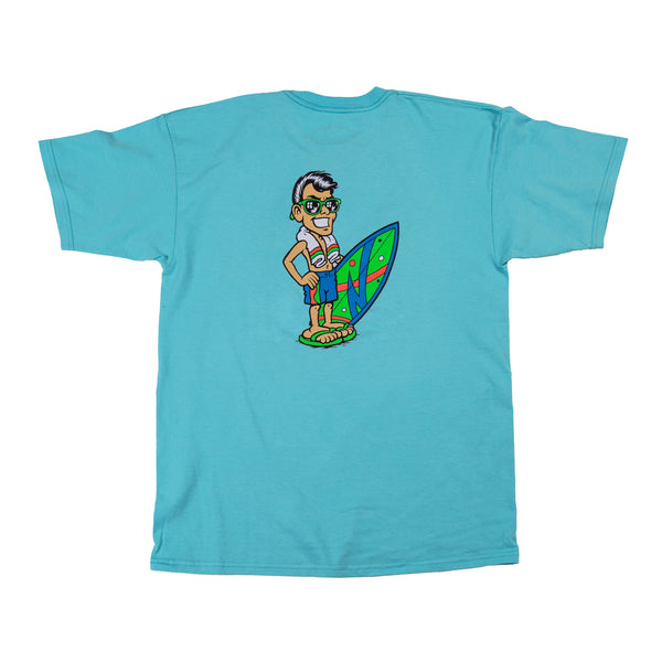 Classic Joe Cool T-Shirt (Pacific Blue)
