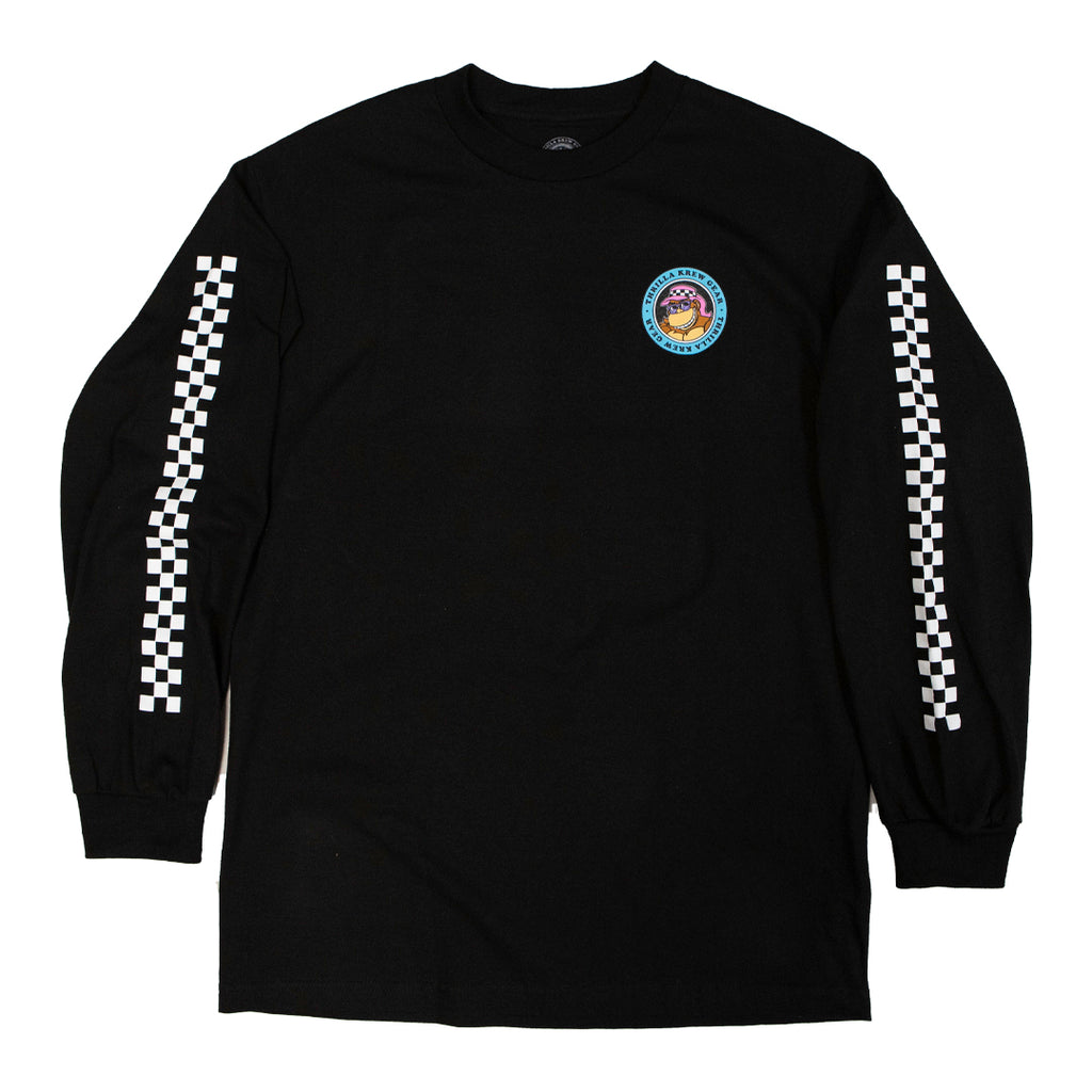 Da'Boys Checkered Long Sleeve (Black)