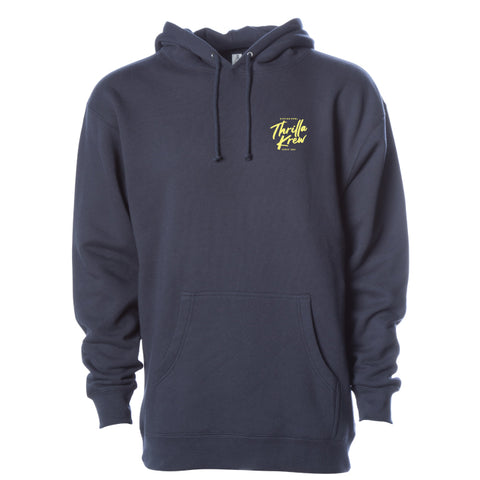 Get Wax, Go Surf Hoodie (Charcoal)
