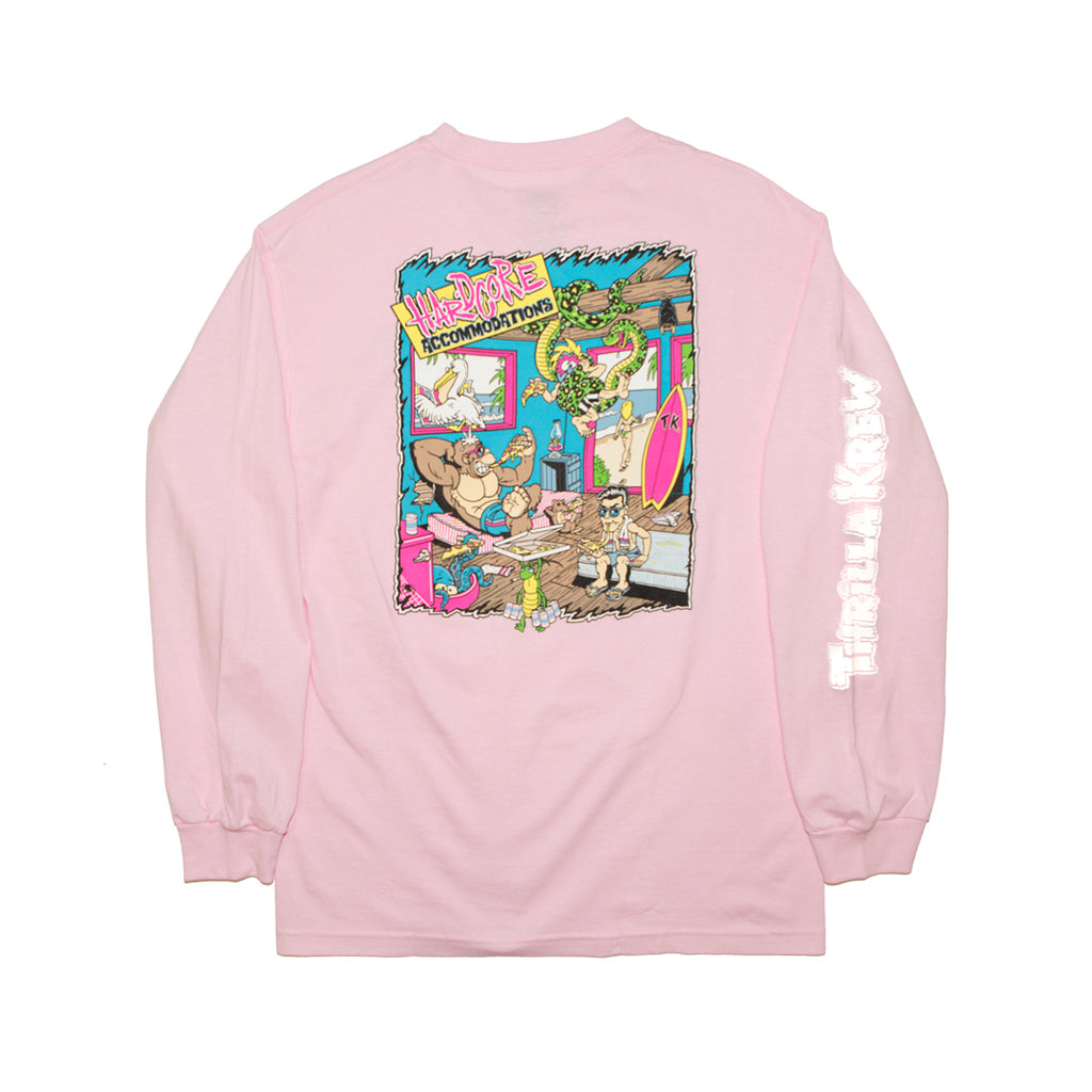 Hardcore Accommodations Long Sleeve (Rose)
