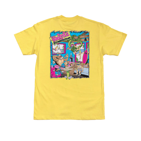 Hardcore Accomodations T-Shirt (Yellow)
