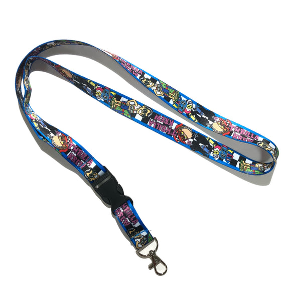 Checker Thrilla Krew Lanyard