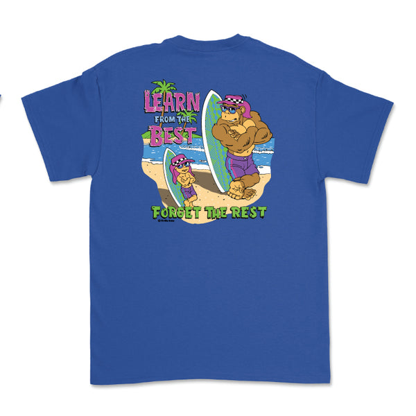 Learn From The Best Youth Tee (Royal)