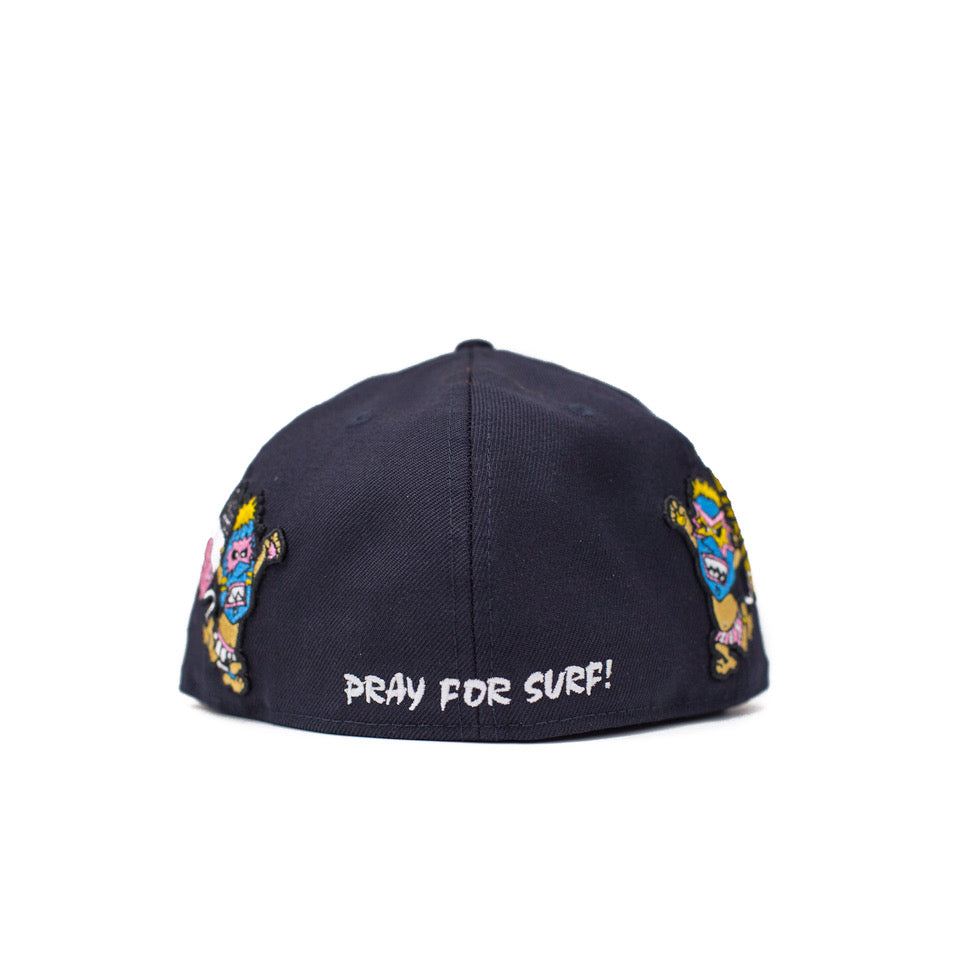 "NewEra 59Fifty - ""Pray For Surf"" Wave Warriors Hat"