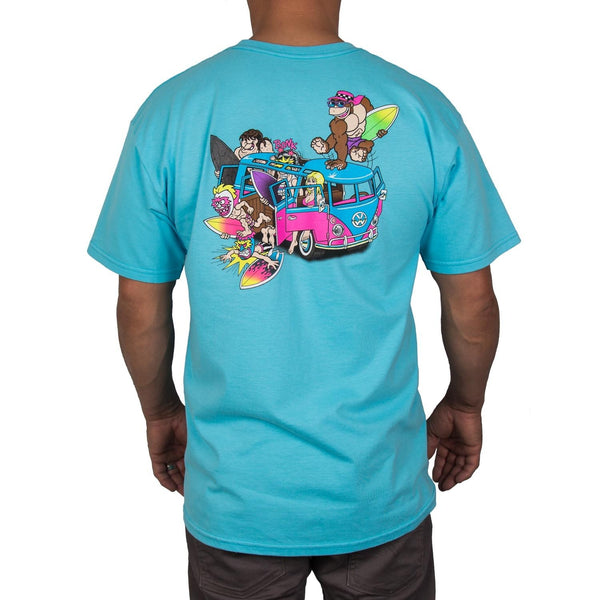 Microbus Tee (Pacific Blue)