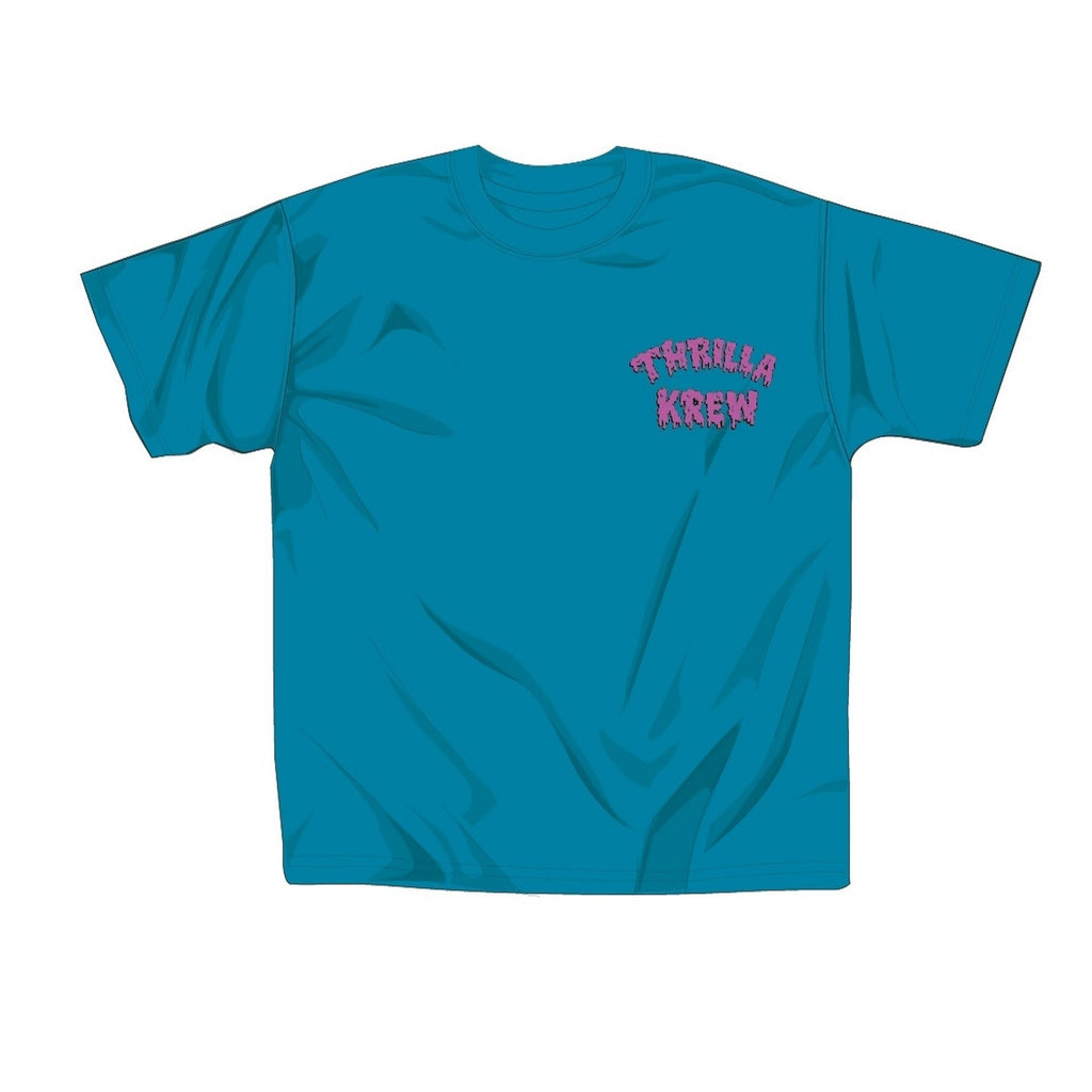 Night Riders Youth Tee (Turquoise)