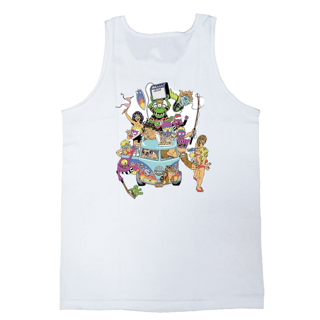 Party Bus Tank (White)
