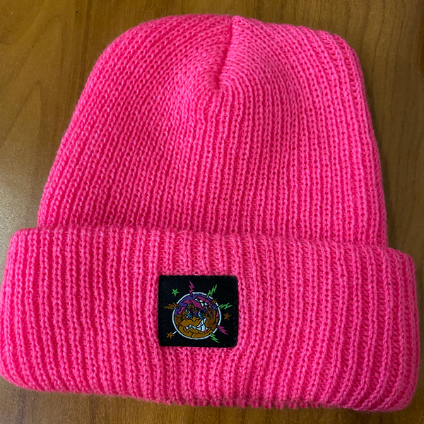 The Big Freeze Slushcult x Thrilla Krew Beanie (Pink)