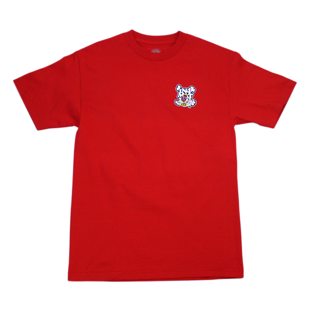Thrilla Krew x IN4MATION Collab-Shredder Tee (Red)
