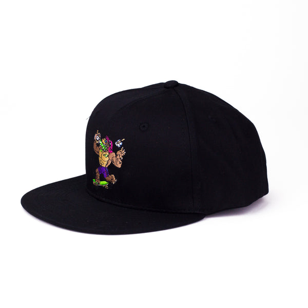 The Big Freeze Slushcult x Thrilla Krew Snapback Hat (Black)
