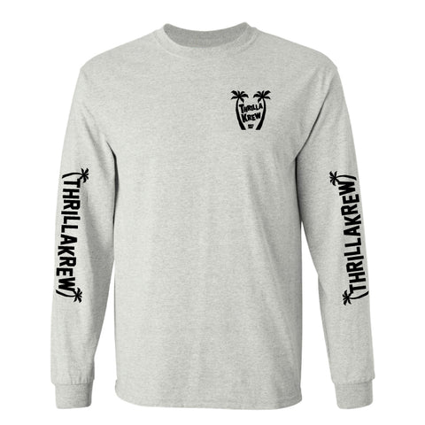 Thrilla Gorilla's Surf Tours L/S (Grey)