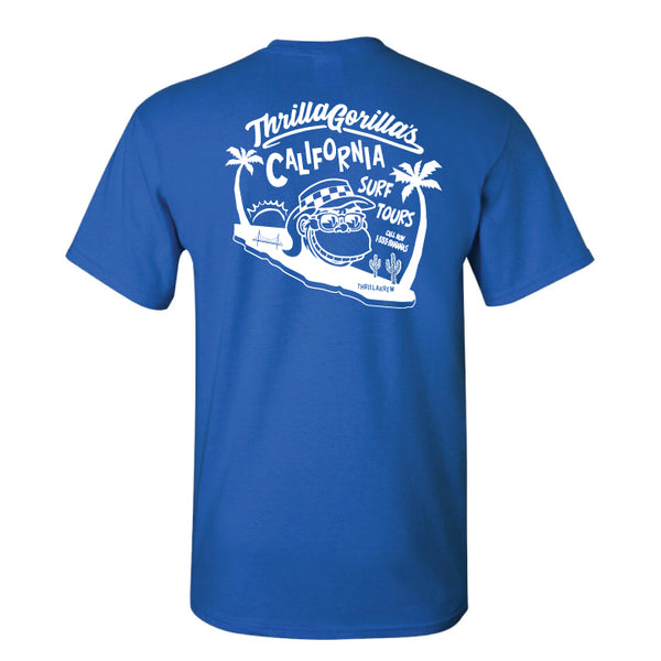 Thrilla Gorilla's Surf Tours (Royal Blue)