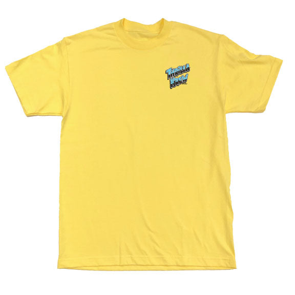 Skate To The Break Tee (Banana)