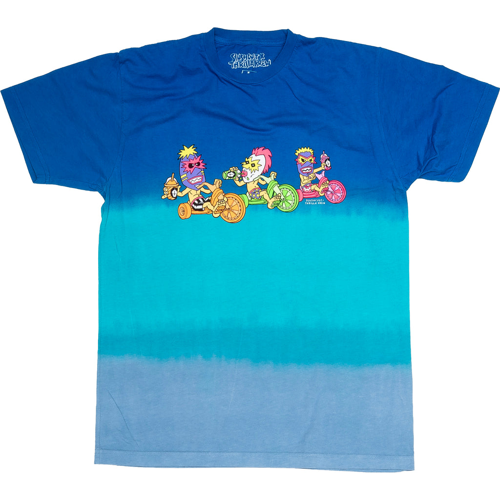 Snack Warriors Slushcult x Thrilla Krew Collab (Dip Dye Blue)