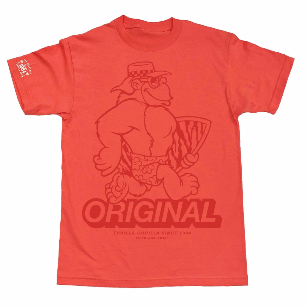 Big Thrilla Tee (Coral)