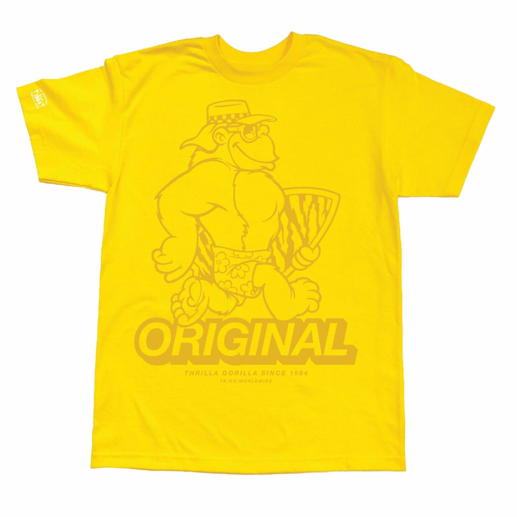 Big Thrilla Tee (Yellow)