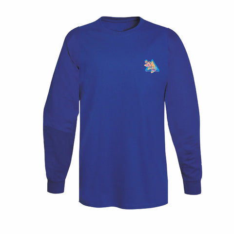 Beach Warriors Long Sleeve Tee (Royal)