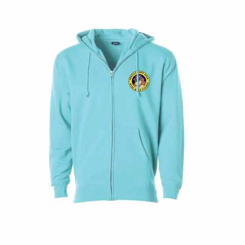 Surf Legends Zip Up Hoodie (Celadon)