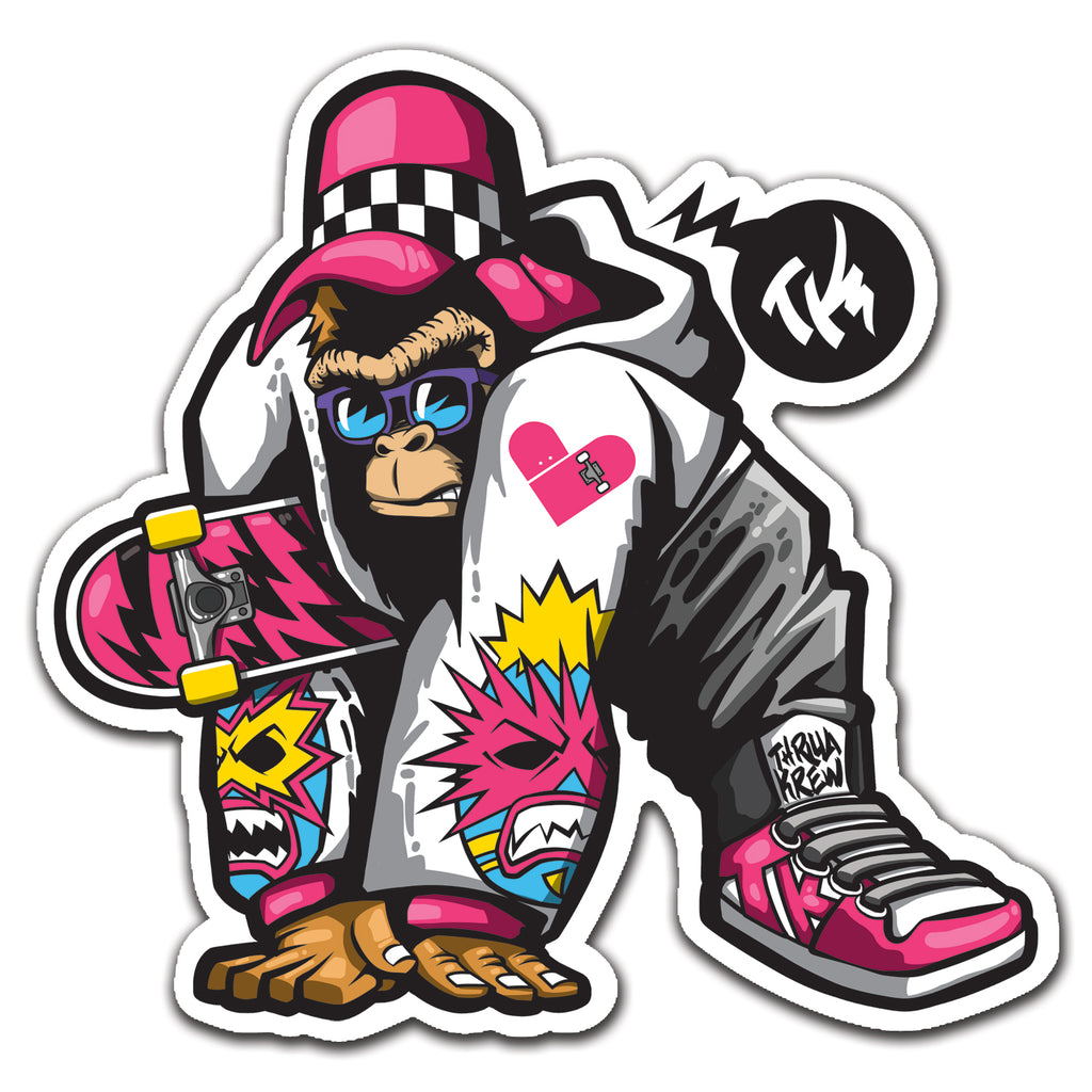 Thrilla Gorilla X 7Sketches X Thrilla Krew Collab Sticker